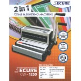 Mesin Jilid 2in1 Secure CW 1250